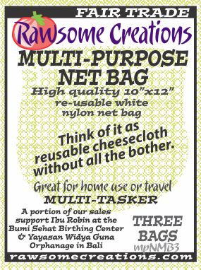 Medium weave BAG label