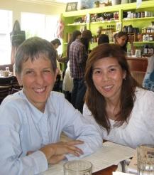 Brenda and Makiko, August 2010