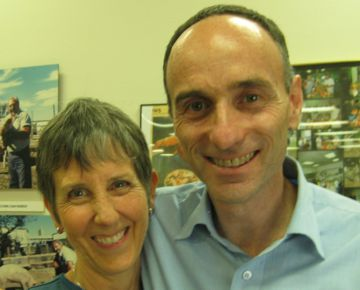 Brenda with Jeffrey Smith, June 2011