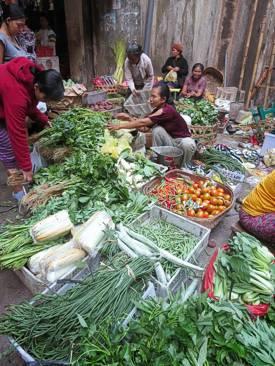 Ubud Central Market. Photo by Brenda Hinton, Bali, November 2013