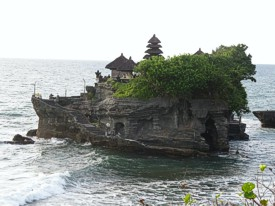 Tanah Lot. Photo by Brenda Hinton, Bali, February 2014