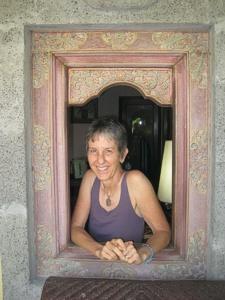 Brenda in Bali, October 2012