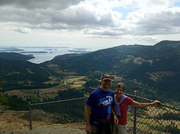 Brenda and Mike Hinton, Salt Spring Island BC