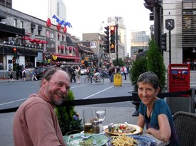 Brenda and Mike in Montreal, 2010