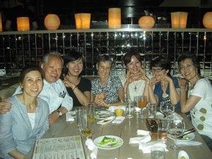 Celebration Dinner - Tokyo, August 2011