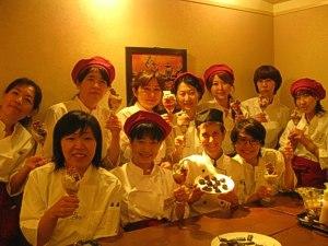 Patisserie Level II graduates - Tokyo, August 2011