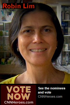 Vote for Robin Lim of Bumi Sehat as CNN Hero for 2011.